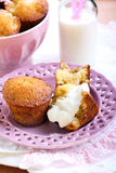 Pineapple muffins Stock Photos
