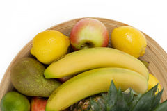 Pineapple and other fruit Royalty Free Stock Images