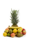 Pineapple and other fruit Stock Photography