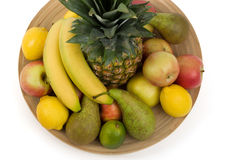 Pineapple and other fruit Stock Images