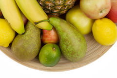 Pineapple and other fruit Royalty Free Stock Image