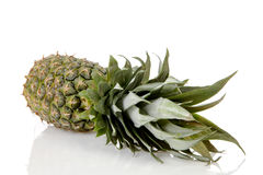 Pineapple over white background Royalty Free Stock Photography