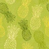 Pineapple pattern Royalty Free Stock Image