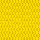 Pineapple pattern background design Royalty Free Stock Images