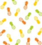 Pineapple pattern background Royalty Free Stock Image