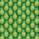 Pineapple Pattern Fabric Vector Stock Images