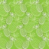 Pineapple pattern Stock Photo