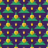 Pineapple pattern Stock Photography