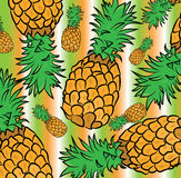 Pineapple pattern Stock Image