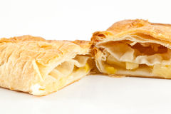Pineapple pie Royalty Free Stock Photography