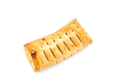 Pineapple pie on white background Stock Photography