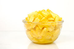 Pineapple pieces Royalty Free Stock Image