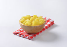 Pineapple pieces Royalty Free Stock Photo