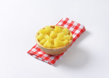 Pineapple pieces Royalty Free Stock Photography