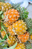 Pineapple pile Stock Photos