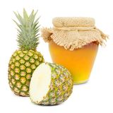 Pineapple product Royalty Free Stock Photography