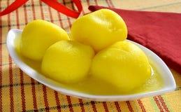 Pineapple Rasgulla Stock Photos