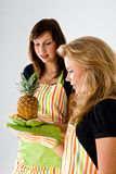 Pineapple Recipe Stock Photography