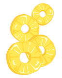 Pineapple rings Stock Photos
