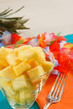 Pineapple Salad Royalty Free Stock Image