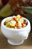 Pineapple salsa Royalty Free Stock Images