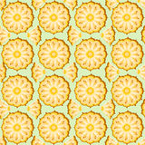 Pineapple seamless Royalty Free Stock Photography