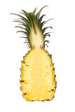 Pineapple section Stock Image