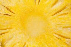 Pineapple slice close up image background royalty free stock photo