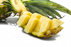 Pineapple sliced Stock Image