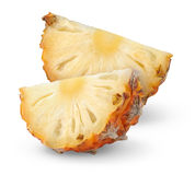 Pineapple slices Stock Photos