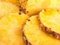 Pineapple slices Stock Photos