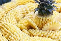 Pineapple slices Royalty Free Stock Image