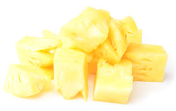 Pineapple slices Royalty Free Stock Photography