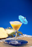 Pineapple Smoothie Royalty Free Stock Images