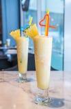 Pineapple smoothie Stock Image