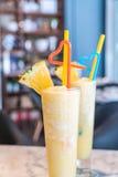 Pineapple smoothie Royalty Free Stock Photo