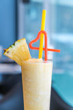 Pineapple smoothie Stock Photography