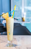 Pineapple smoothie Royalty Free Stock Photography