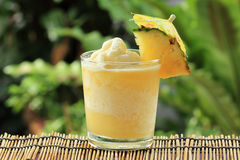 Pineapple Smoothie Stock Image