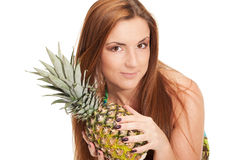 Pineapple summer Royalty Free Stock Image