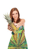 Pineapple summer Stock Photo