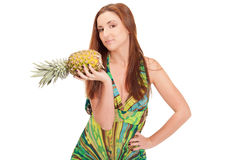 Pineapple summer Royalty Free Stock Images