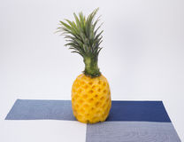 Pineapple. Summer common tropical fruit, rich in vitamins, sweet and delicious, to bring health and happiness Royalty Free Stock Photography