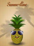 Pineapple for summertime Royalty Free Stock Photography