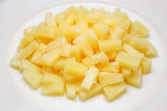 Pineapple in syrup Stock Photos