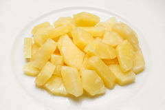 Pineapple in syrup Royalty Free Stock Image
