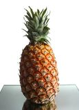 Pineapple on a table Royalty Free Stock Image