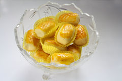 Pineapple tart Stock Photography
