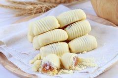 Pineapple tart Stock Photo