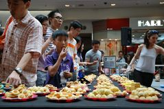 Pineapple Tart Search Event Royalty Free Stock Image